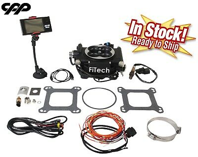 FiTech Fuel Injection 30002 Go EFI 600 HP Basic Conversion Kit - Matte  Black | eBay