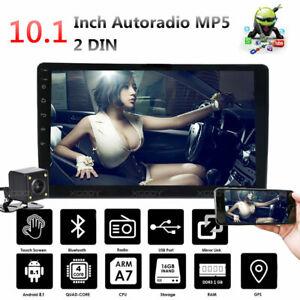 10-1-034-2-Din-Android-8-1-Autoradio-Stereo-GPS-Navi-Bluetooth-MP5-WIFI-Telecamera