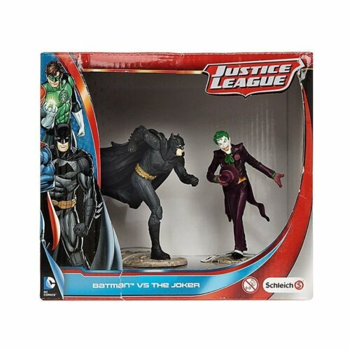 SCHLEICH 22510-Liga De La Justicia Batman Vs El Guason-DC figuras 2-Pack-Nuevo