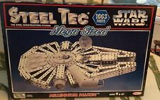 Steel-Tec Mega-Sized STAR WARS MILLENNIUM FALCON 1063 Pieces New in Box