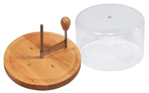 Kesper rallador de queso de libro de Ø 21 cm con cofia para Tete de moine queso 68621