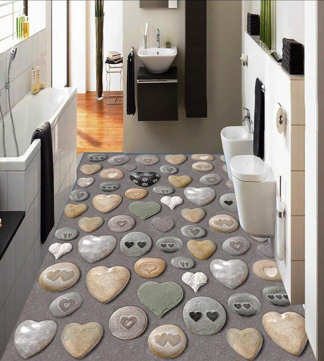 3D Stone Pattern 6 Floor WallPaper Murals Wall Print Decal AJ WALLPAPER CA Carly