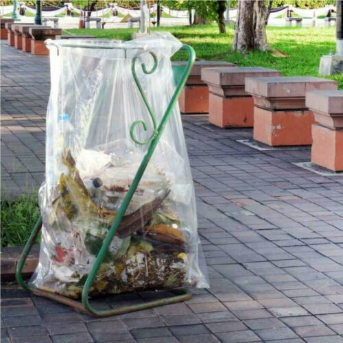 Toughbag 42 Gallon Contractor Trash 3.0 Mil 50//Case Garbage Bags Clear Thick