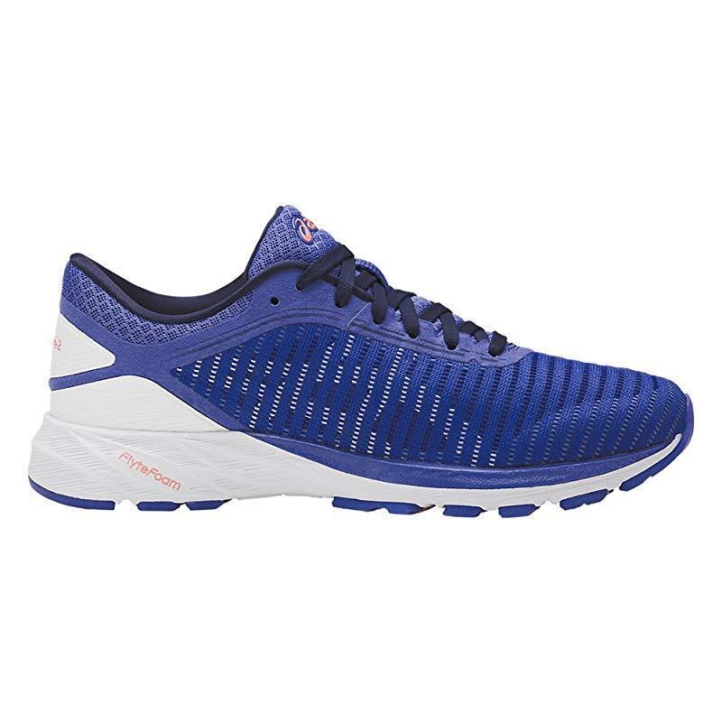 ASICS zapatilla de running mujer dynaflyte 2, azul / blanco, mujeres, 7 bprice reducción nuevos zapatos para hombres y mujeres, blanco, el limitado tiempo de descuento 451022