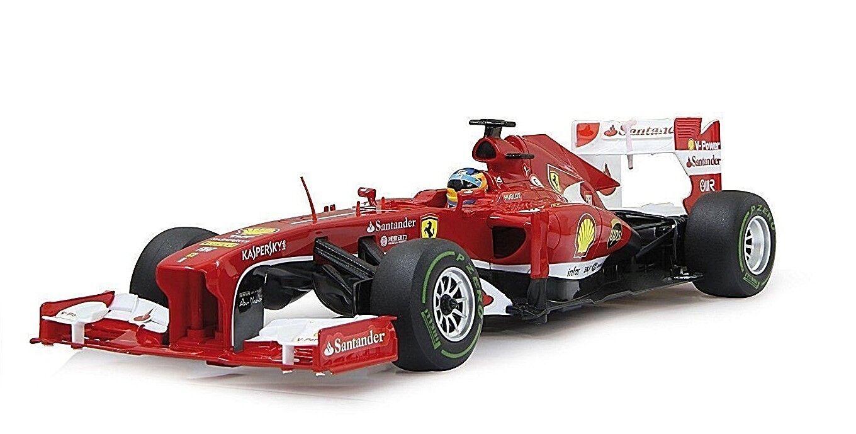 Jamara 403090 27 MHz 1:12 SCALA Rosso Ferrari F1 Deluxe Auto