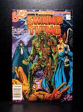 COMICS: DC: Saga of the Swamp Thing #46 (1980s), John Constantine app - RARE