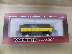 Mantua-Freight-Log-Car-Hopper-Car-HO-Select-One-NIP