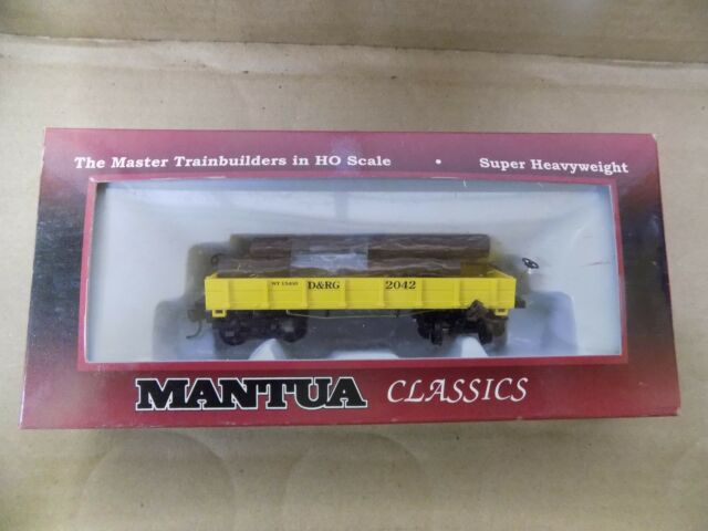 Mantua Freight Log Car / Hopper Car HO (Select One) NIP