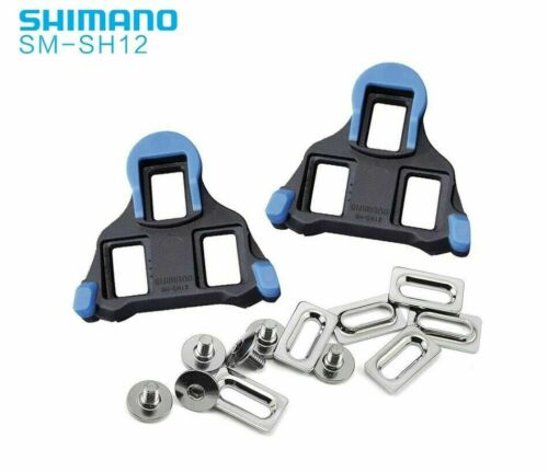 Shimano SM-SH10//11//12 Cleat Set 0//2//6° Float SPD-SL Road Bike Pedal Cleats US