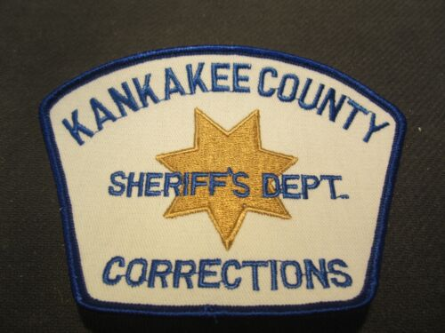 KANKAKEE COUNTY IL SHERIFF/'S CORRECTIONS POLICE PATCH