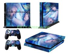 Final Fantasy X FF10 FFX Yuna Tidus Vinyl Skin Sticker Decal Protector for PS4