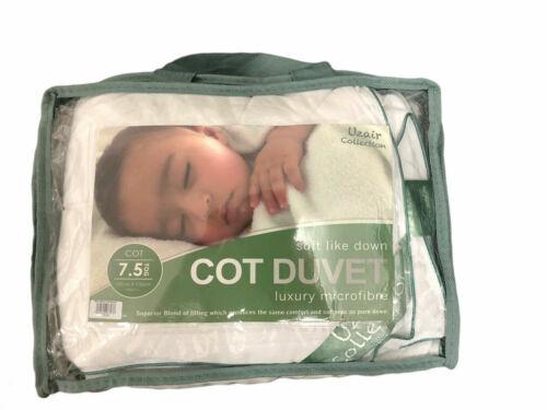 Microfibre nursery Baby Junior Bébé Anti Allergie Lit Bébé Couette Et Oreiller