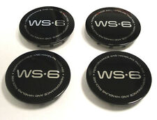 1996-2001 Pontiac Firebird Trans Am WS6 Wheel Center Caps Kit Emblems  17""