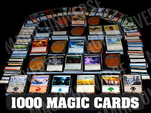 1000-Magic-the-Gathering-Cards-Lot-With-100-Lands-MTG-Includes-Foils-amp-Rares