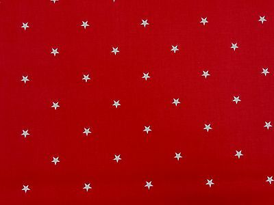Clarke and Clarke Etoile Red Designer Curtain Craft Upholstery Fabric