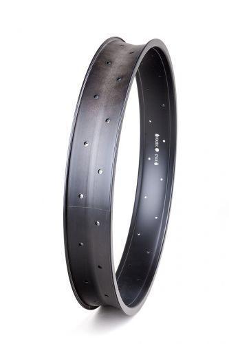 Llantas aluminio 24 pulgadas 82mm 32 Orificios black MATE
