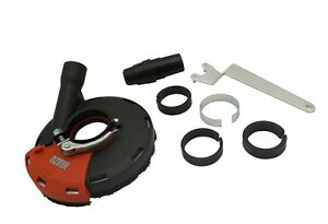 Inch HERZO Universal Surface Grinding Dust Shroud for Angle Grinder 7
