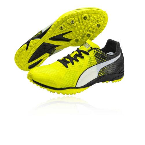 Puma Herren evoSPEED Haraka 6 Spikes Spikeschuhe Laufschuhe Sport Schuhe Schwarz