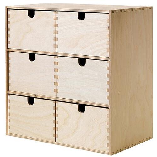 Kommode ikea holz  IKEA Moppe Mini-kommode 31x18x32 Cm Birke Aufbewahrung ...