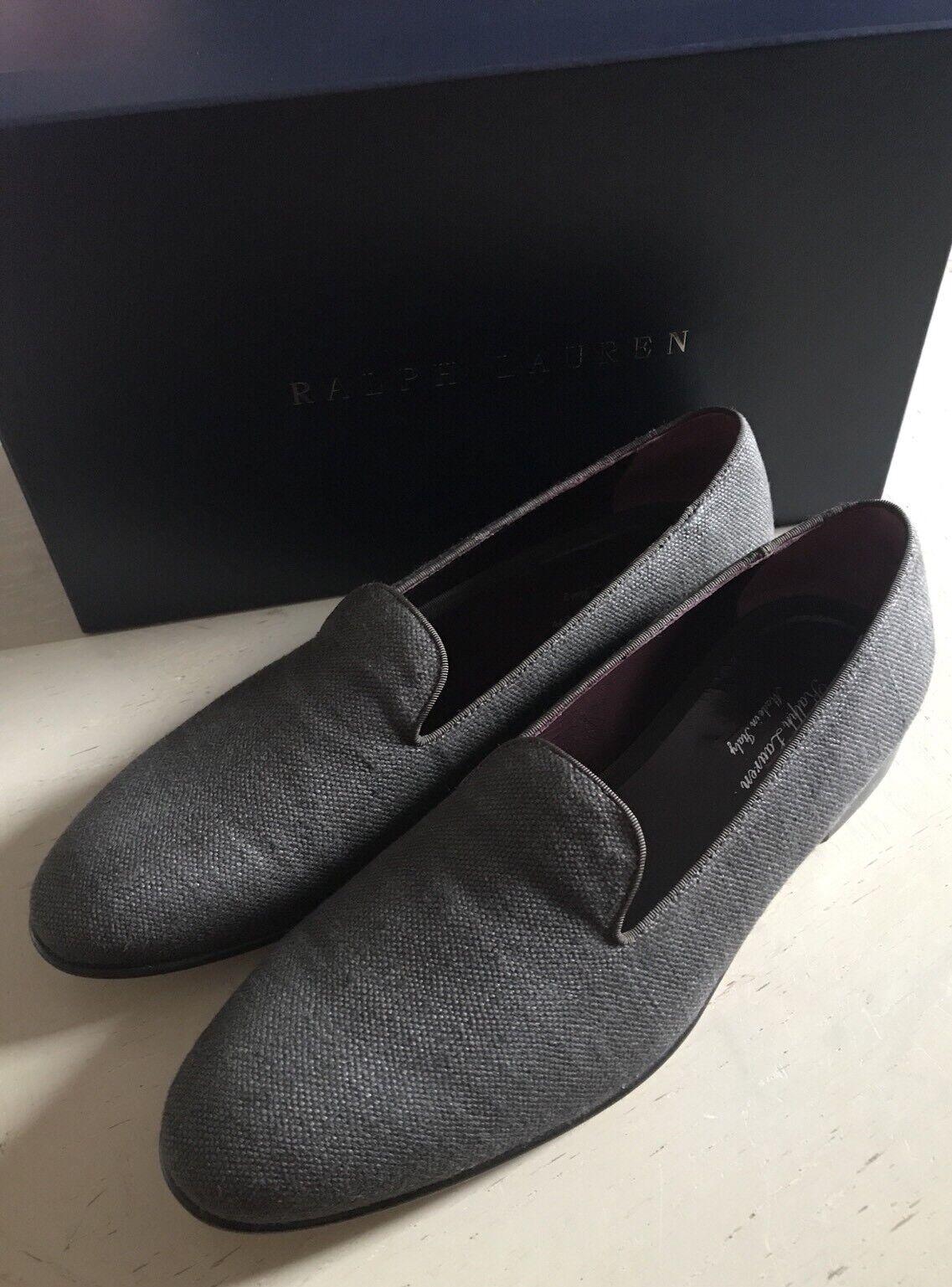 Nuevo 650 para Label hombre Ralph Lauren Morado Label para Lona Zapatillas Zapatos Gris 11.5 EE. UU. 3bf05a