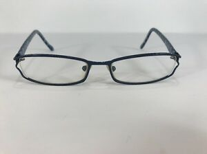 4c185e3a63 Image is loading Jill-Stuart-Eyeglasses-JS-174-3-Blue-Mosaic-