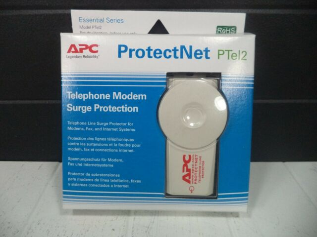 Apc Protectnet Ptel2 Telephone Modem Surge Protection