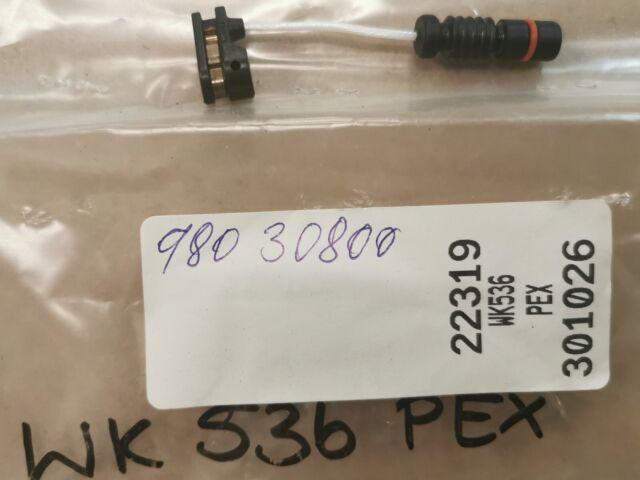 1x Sensor Desgaste de los Frenos Delant. WK936 para Mercedes Benz