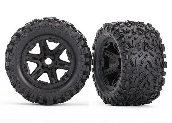Traxxas 8672 Tires & wheels, assembled, glued Brand NEW