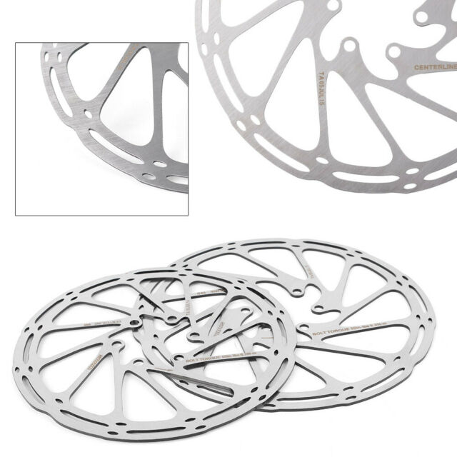 160//180mm Mountain Bike Disc Brake Stainless Steel Bicycle 6 Bolts Rotor