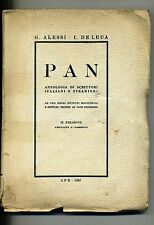 G.Alessi-I.De Luca # PAN-ANTOLOGIA DI SCRITTORI ITALIANI E STRANIERI # APE 1947