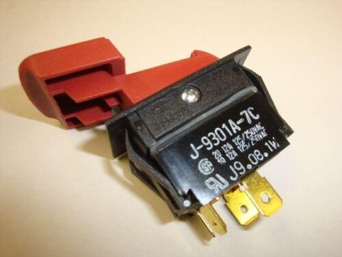 826123 Ridgid BS14000 TS24121 RS10000 Saw Locking Switch Without Key