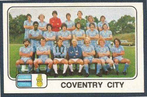 PANINI FOOTBALL 79 #110-COVENTRY CITY TEAM PHOTO