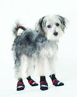 Lookin' Good By Fashion Pet Extreme All Weather Boots Red In Xxx-small