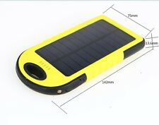 5000mAh  Mobile UniversalPower Charger Bank Portable Waterproof Solar Power BANK