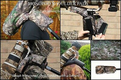Shoulder Pad Support for MONOPOD used with a Fixed or Tilt Plate Mount 4 colours