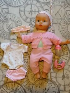 Baby Annabell Doll 18 inche With bottle rattle & Clothes ...
