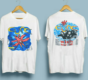 Vintage-1992-The-Cure-Wish-Tour-T-Shirt-VTG-90s-Band-Tee-Robert-Smith-Reprint