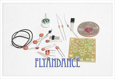 DIY electronic Kit - Mini Regenerative FM radio sound transmitter mic bug spy US