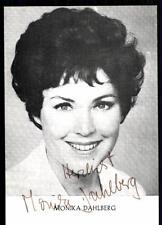 Monika Dahlberg E.Huber Verlag Autogrammkarte Original Signiert## BC 2351