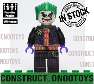 joker lego Custom PAD UV PRINTED Minifigure joker