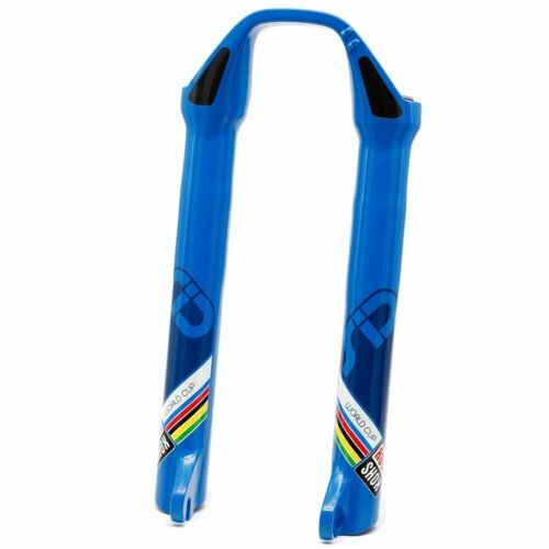 """Blue RockShox 2008-2012 26/"""" SID Carbon World Cup QR Lower Assembly Disc Only"""