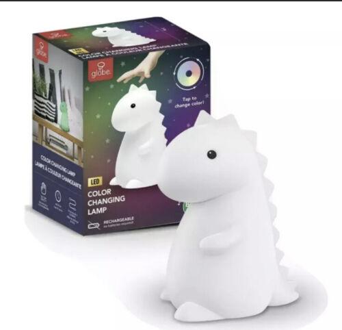 Tommy Dinosaur White Multi-Color Changing LED TikTok Night Light IN HAND