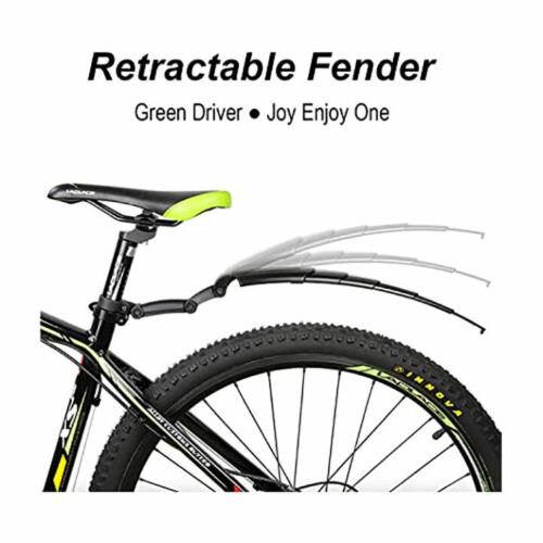 Bicycle retractable mudguard