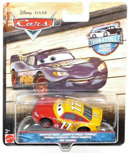 DISNEY PIXAR CARS THOMASVILLE TRIBUTE RACING LEGENDS #54 CARS 3 HERB CURBLER