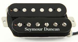Seymour-Duncan-SH-1b-039-59-Vintage-PAF-Nighthawk-Bridge-Pickup-4-Conductor-Black