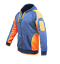Hi-Vis-Fleece-Jacket-Full-Zip-Hoodie-Jumper-Panel-with-Piping-Body-Dark-Marble thumbnail 9