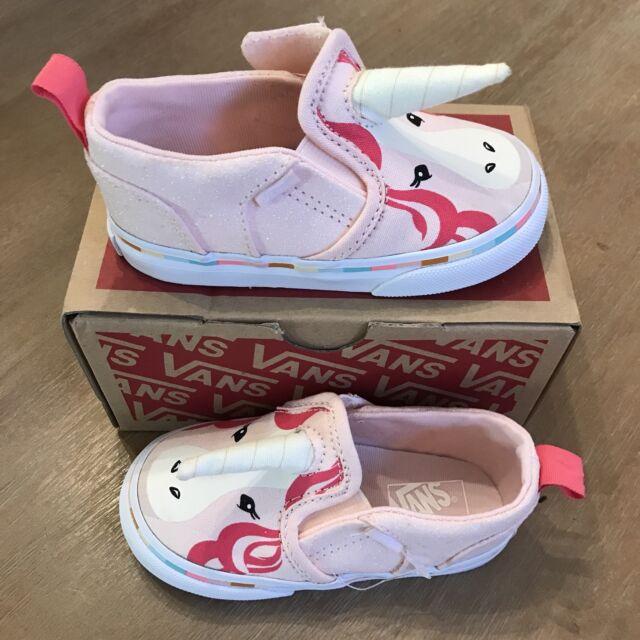 0a76f6e40eaa3f VANS Asher V Unicorn Toddler Girls Slip-on Shoes Sz 7 Limited Ed for ...