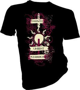 Game-of-Thrones-fiere-Unbent-Ininterrompue-Maison-Martell-Adultes-amp-Enfants-T-Shirt