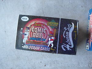 SEALED-Set-of-1992-Upper-Deck-Comic-Ball-Cards-with-Holograms