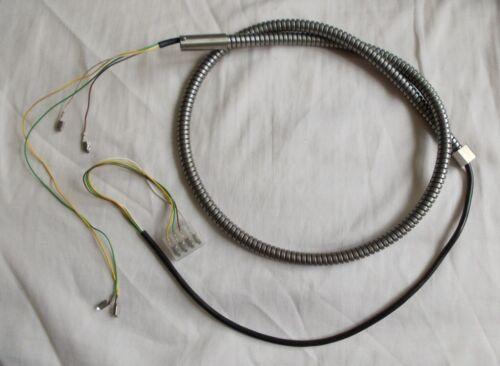 Cable blindado para auricular del teléfono público tarjetas telefónicas cabina telefónica dispositivos cuerda